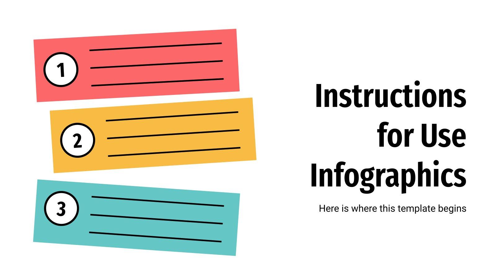 Infographies pour mode d'emploi : Modèles de présentation