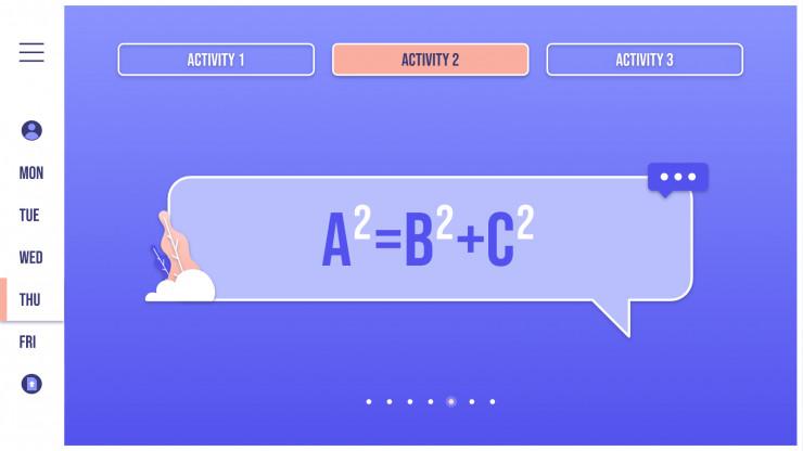 Interactive Teacher Planning presentation template