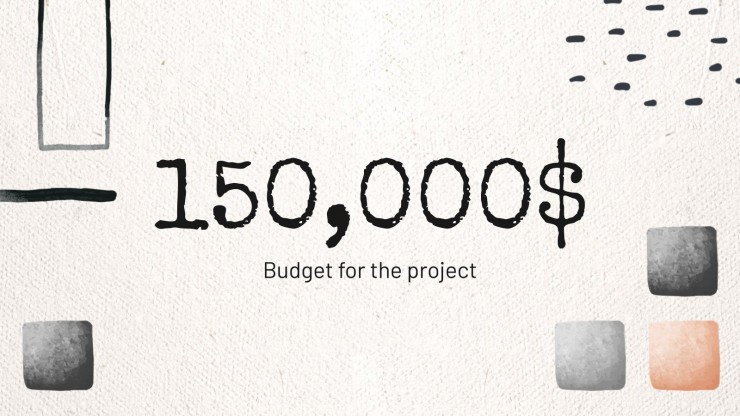 Informally Solicited Project Proposal presentation template