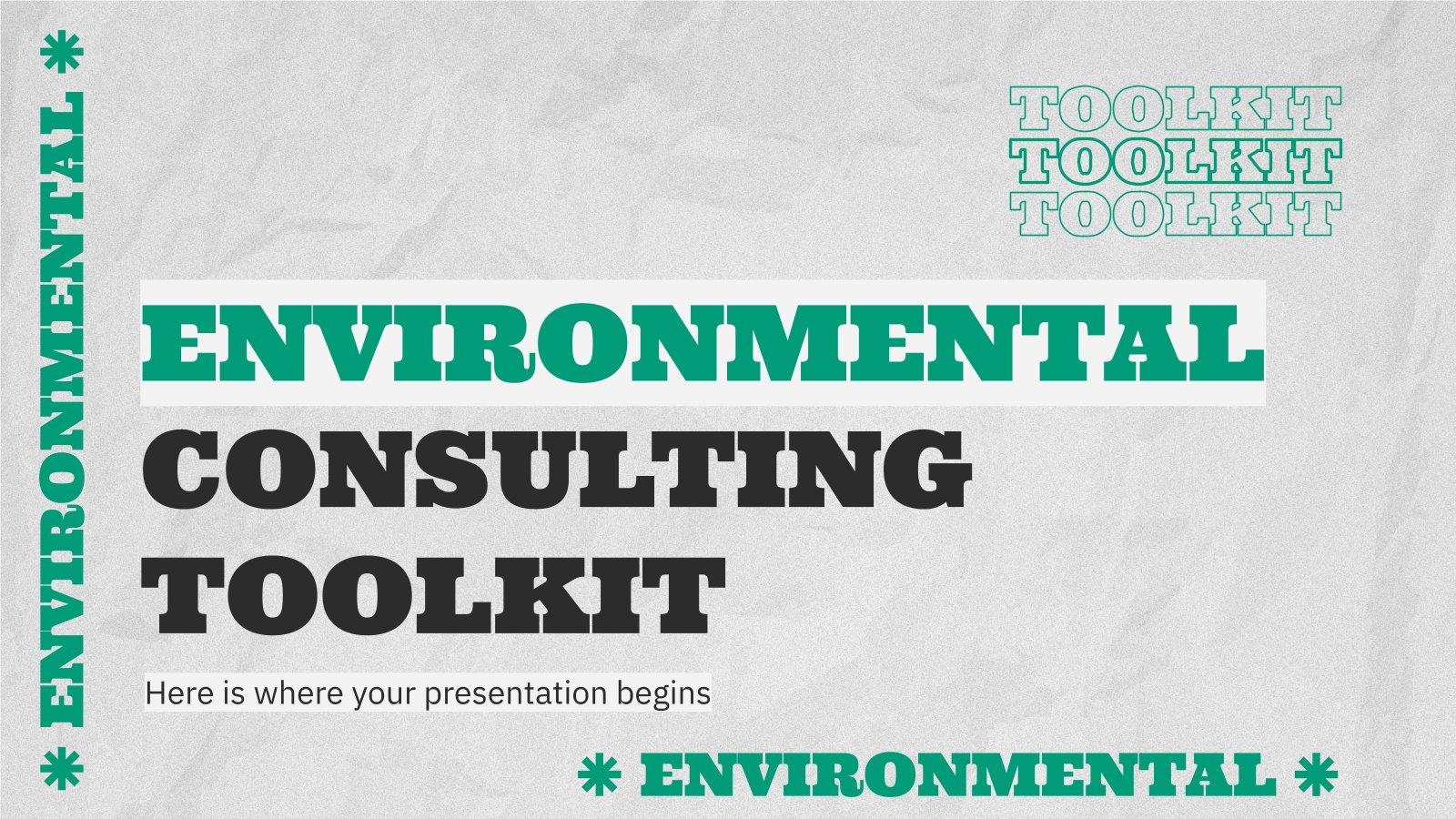 Modelo de apresentação Ferramentas de consultoria ambiental