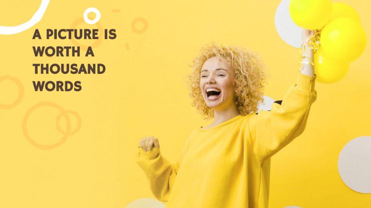 Modelo de apresentação Dia Amarelo