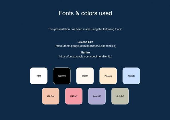 Plantilla de presentación Folleto simple con paisajes flat para marketing