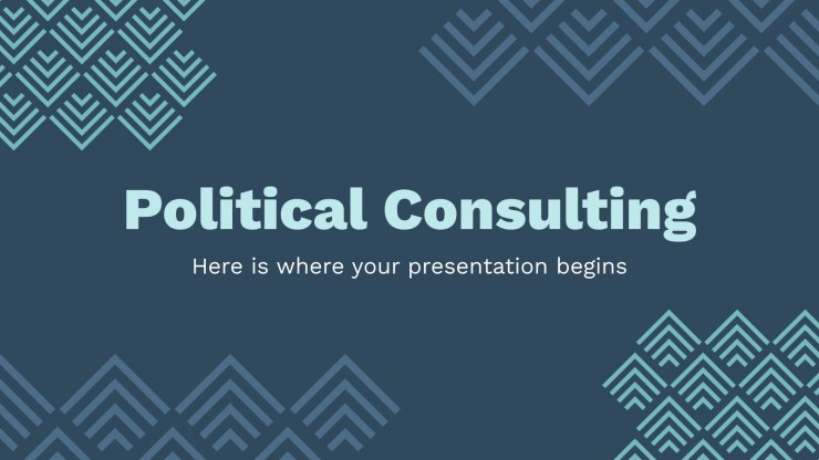 Politische Beratung Präsentationsvorlage