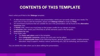 Asthma Clinical Case presentation template