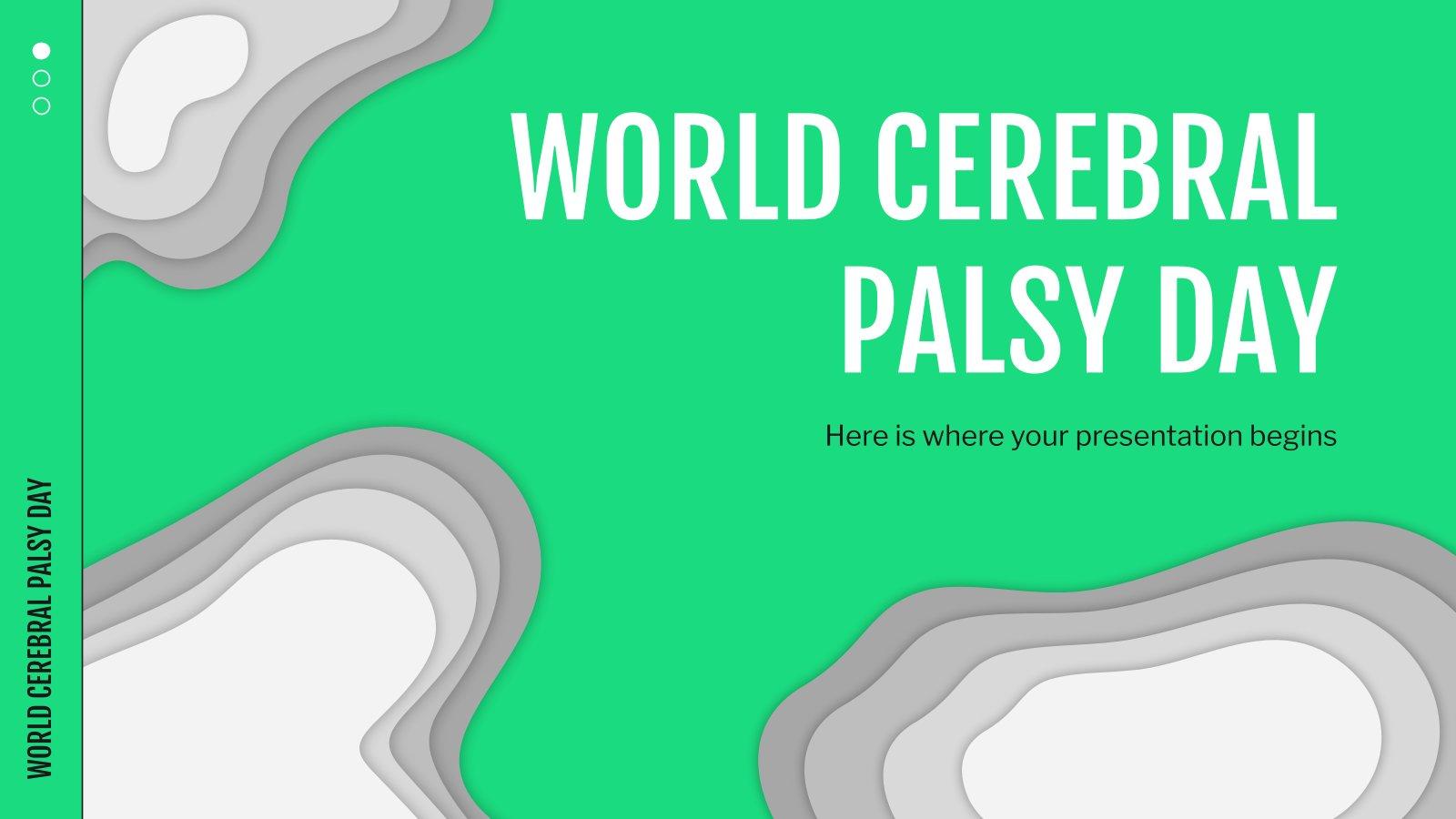 Journée mondiale de la paralysie cérébrale : Modèles de présentation
