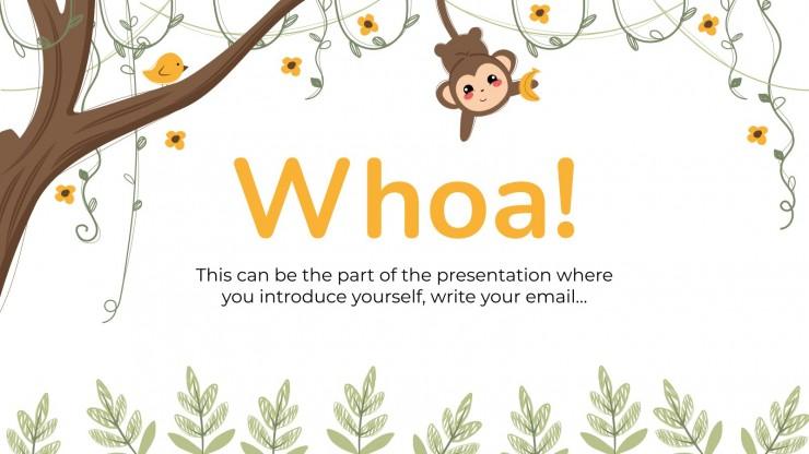 Modelo de apresentação Fonética pra pré-escola: Composição