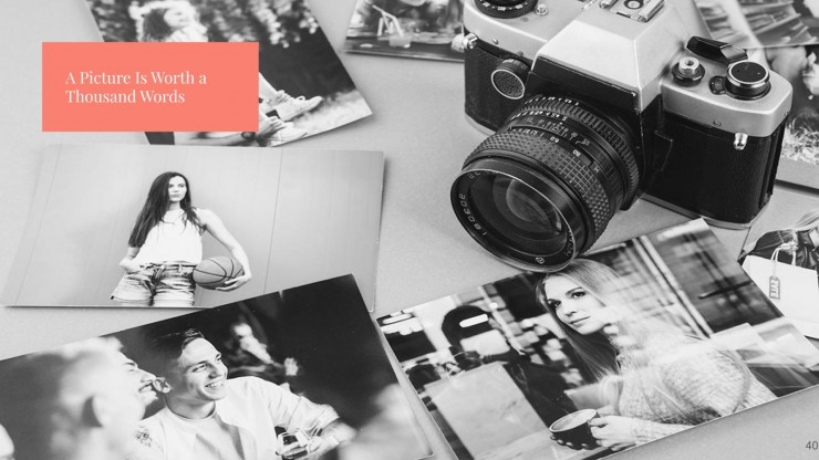 Fotografie-Portfolio Präsentationsvorlage