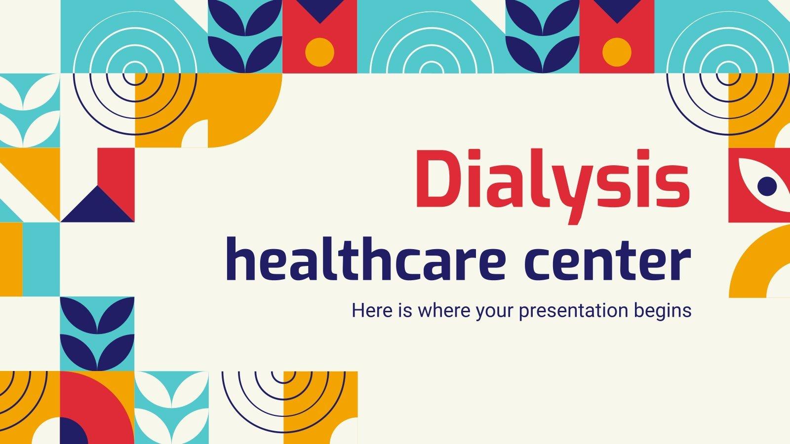 Dialysis Healthcare Center presentation template