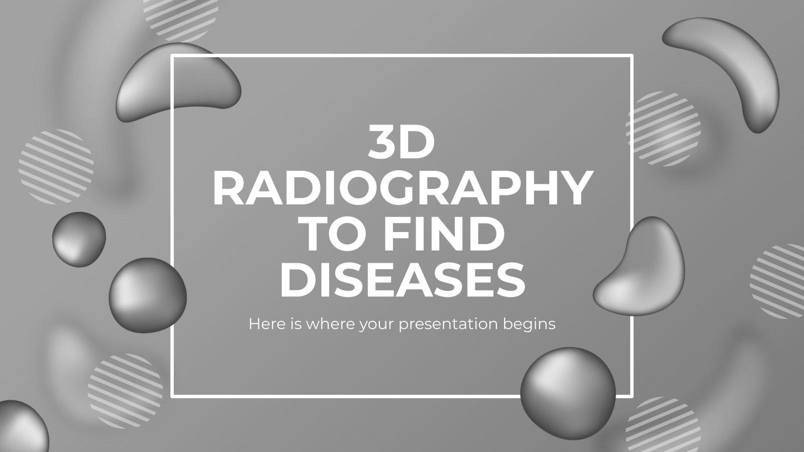 Radiographie 3D pour le diagnostic : Modèles de présentation