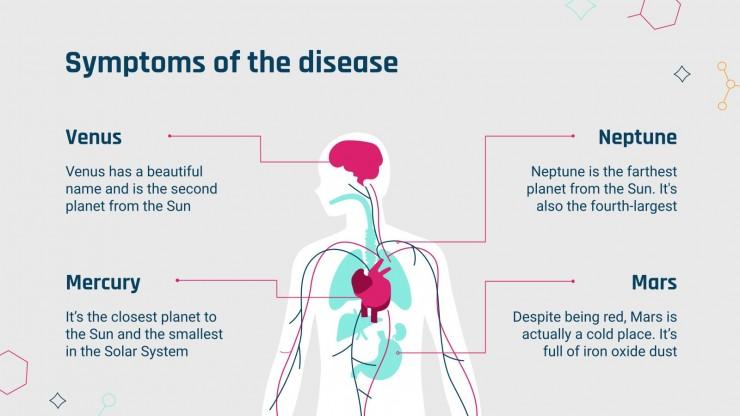 UK National Cholesterol Month presentation template