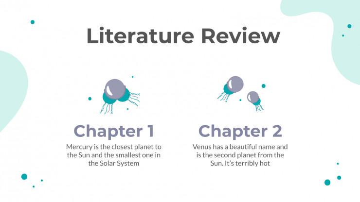 Biologie Abschlussarbeit Präsentationsvorlage