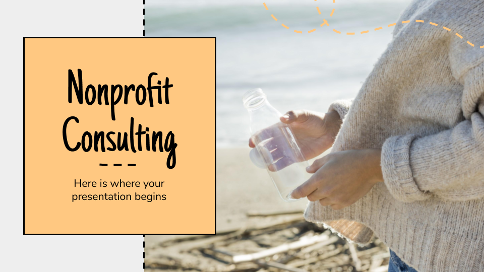 Nonprofit Consulting presentation template