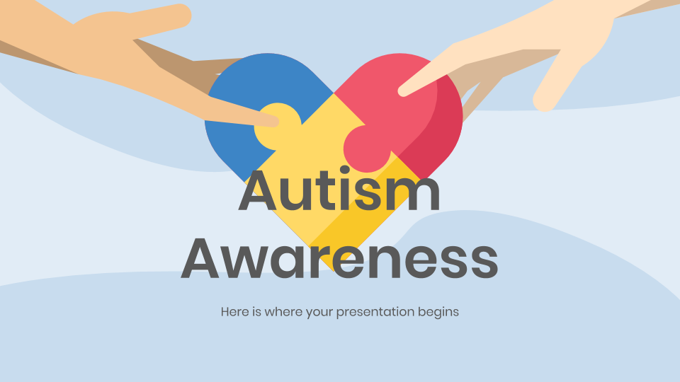 Autism Awareness presentation template