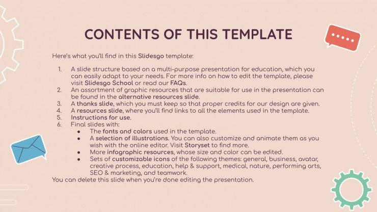 Career Technical Subject for Middle School - 6th Grade: Marketing presentation template