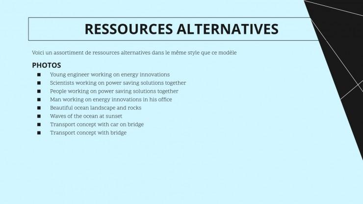 Vorschlag für ein Gezeitenenergieprojekt Präsentationsvorlage