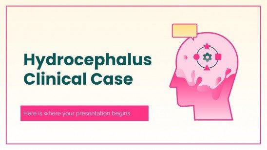 Hydrozephalus Klinischer Fall Präsentationsvorlage