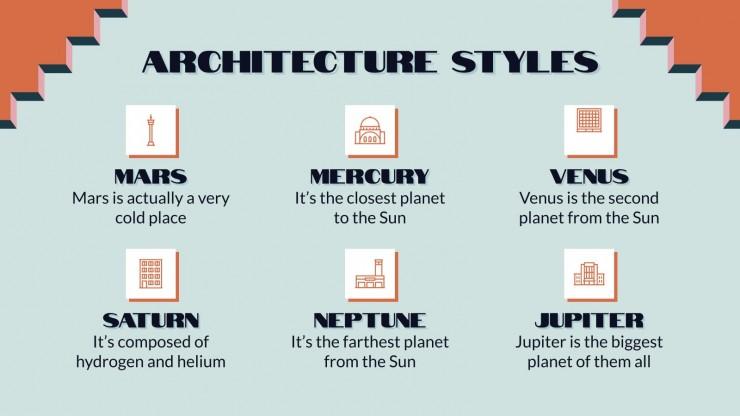 Journée mondiale de l'architecture : Modèles de présentation