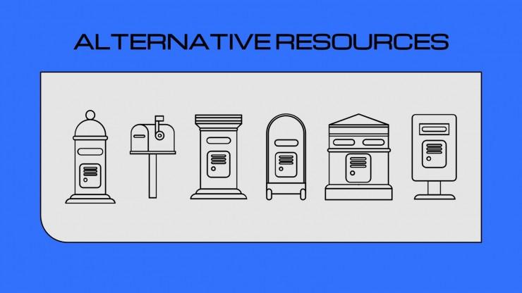 World Post Day presentation template