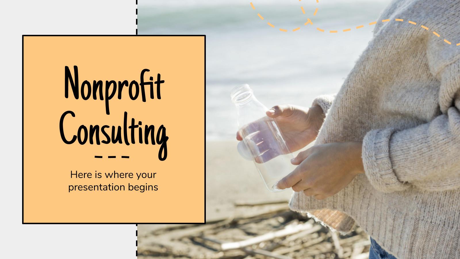 Nonprofit Consulting presentation template