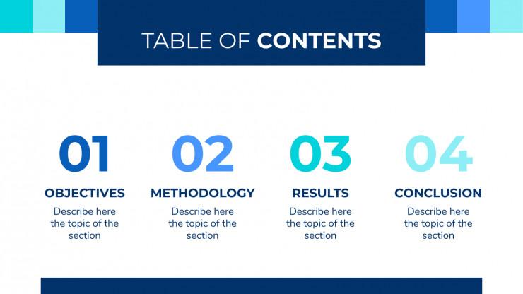 Modern Breakthrough presentation template