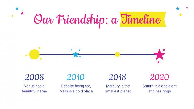 Modelo de apresentação Dia Internacional da Amizade