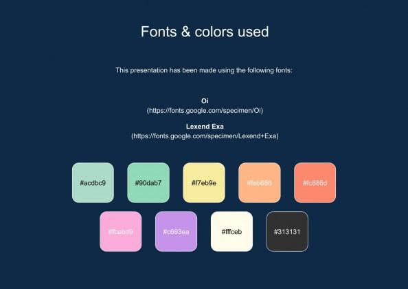 Pastel Business Product Brochure presentation template