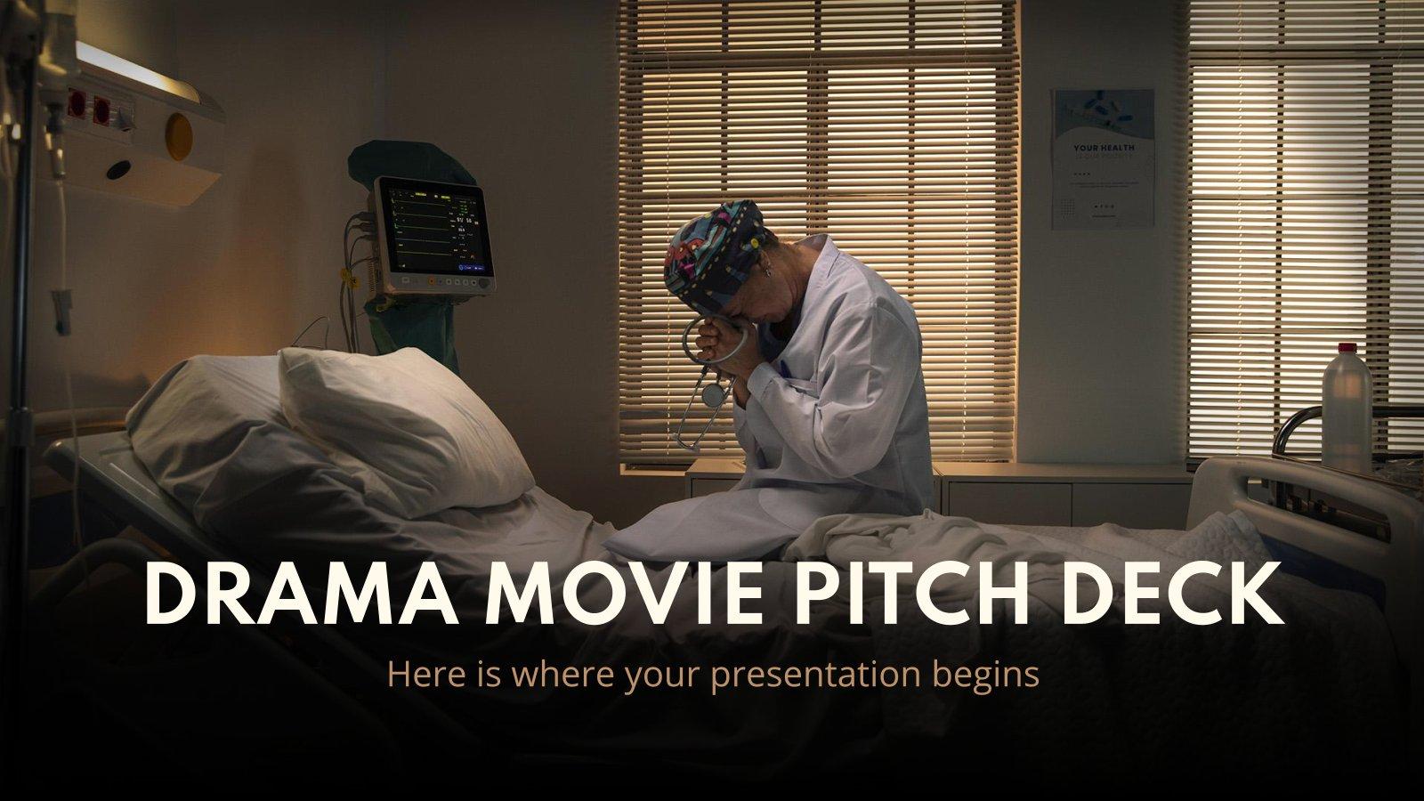 Pitch Deck pour des films dramatiques : Modèles de présentation