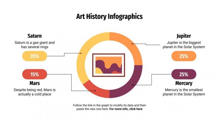 Art History Infographics presentation template