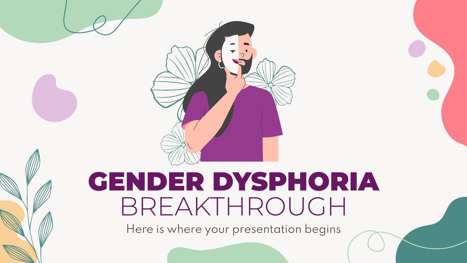 Modelo de apresentação Avanço da Disforia de Gênero