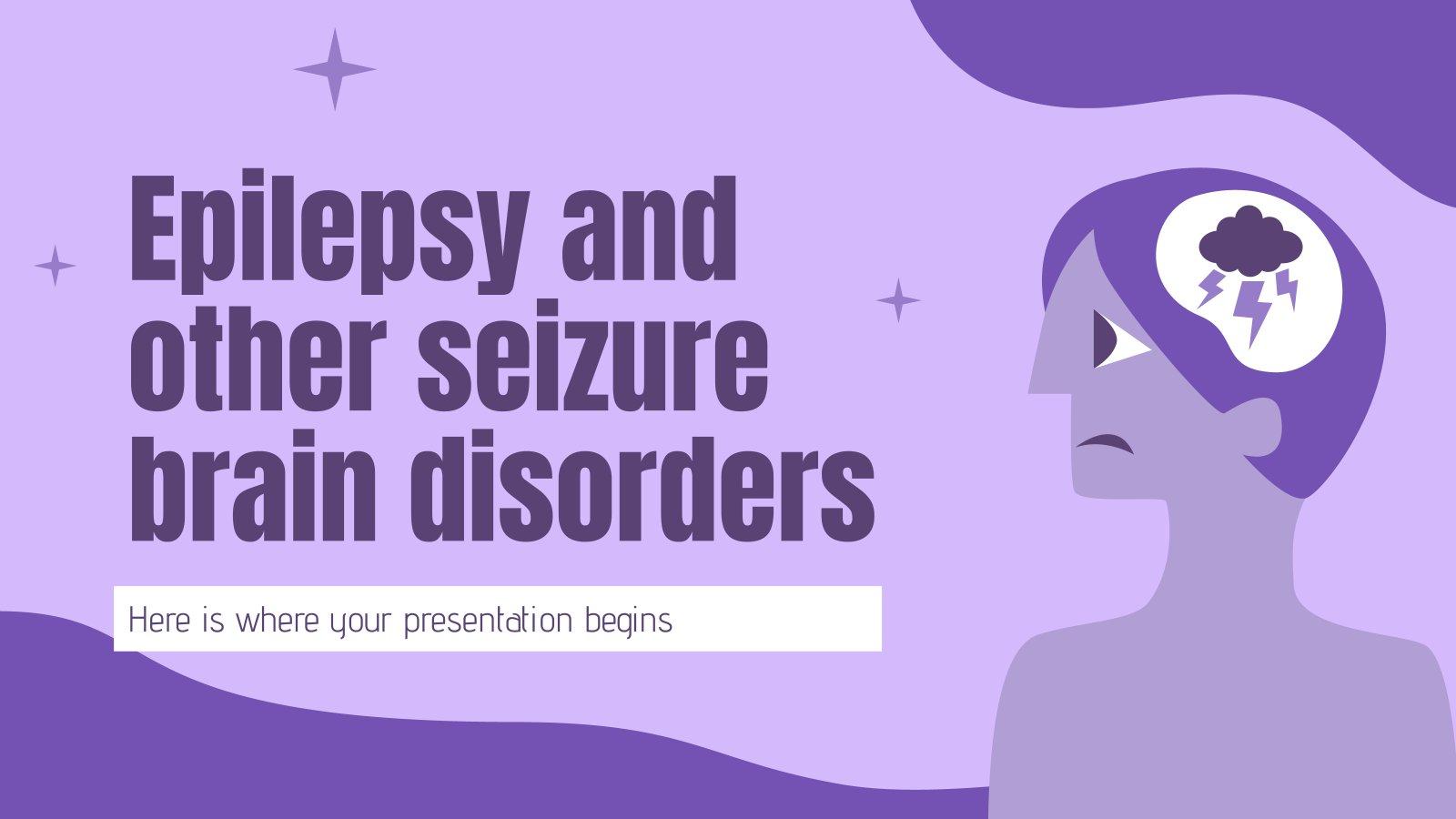 Epilepsie und andere Anfallsleiden des Gehirns Präsentationsvorlage