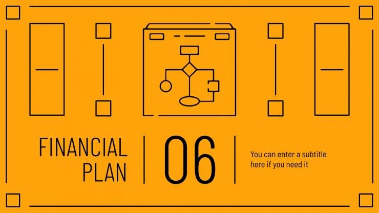 Project Plan Timeline presentation template