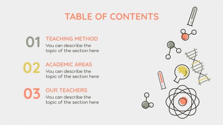 Intempo School Center presentation template