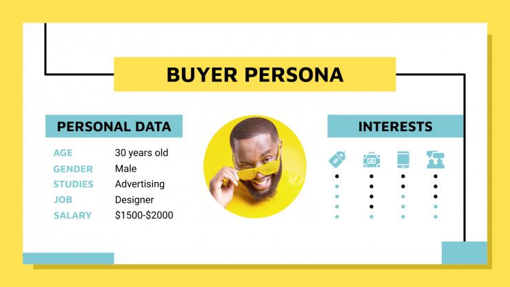 Modelo de apresentação Venda na mídia social