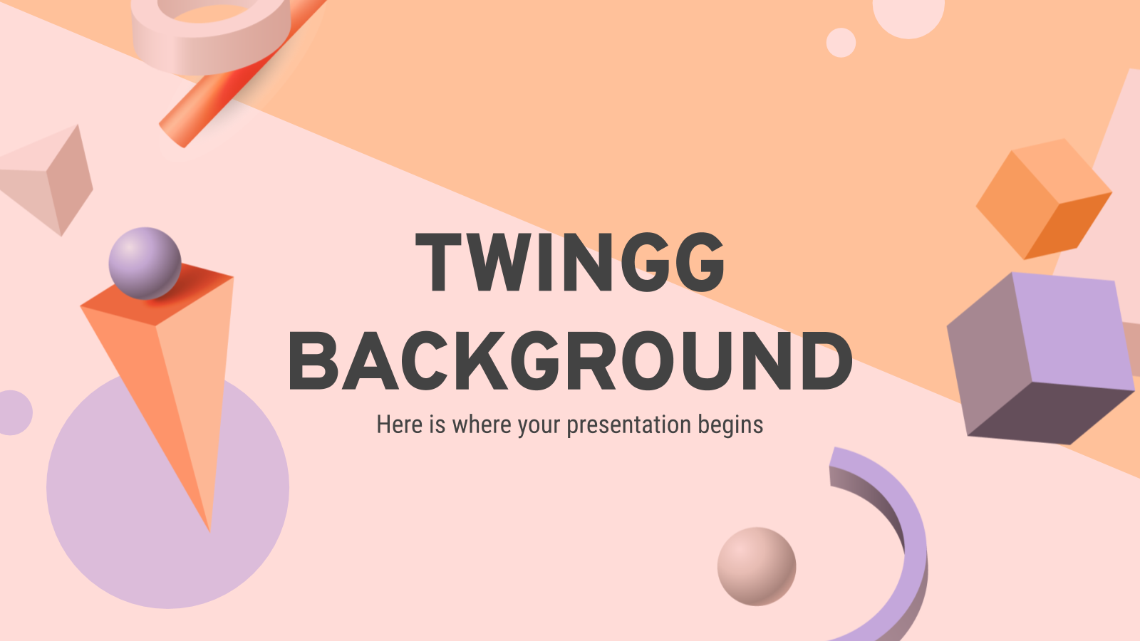 Twingg Background presentation template