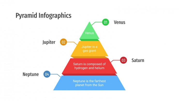 Pyramid Infographics presentation template