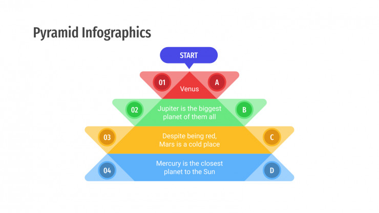 Pyramid Infographics presentation template