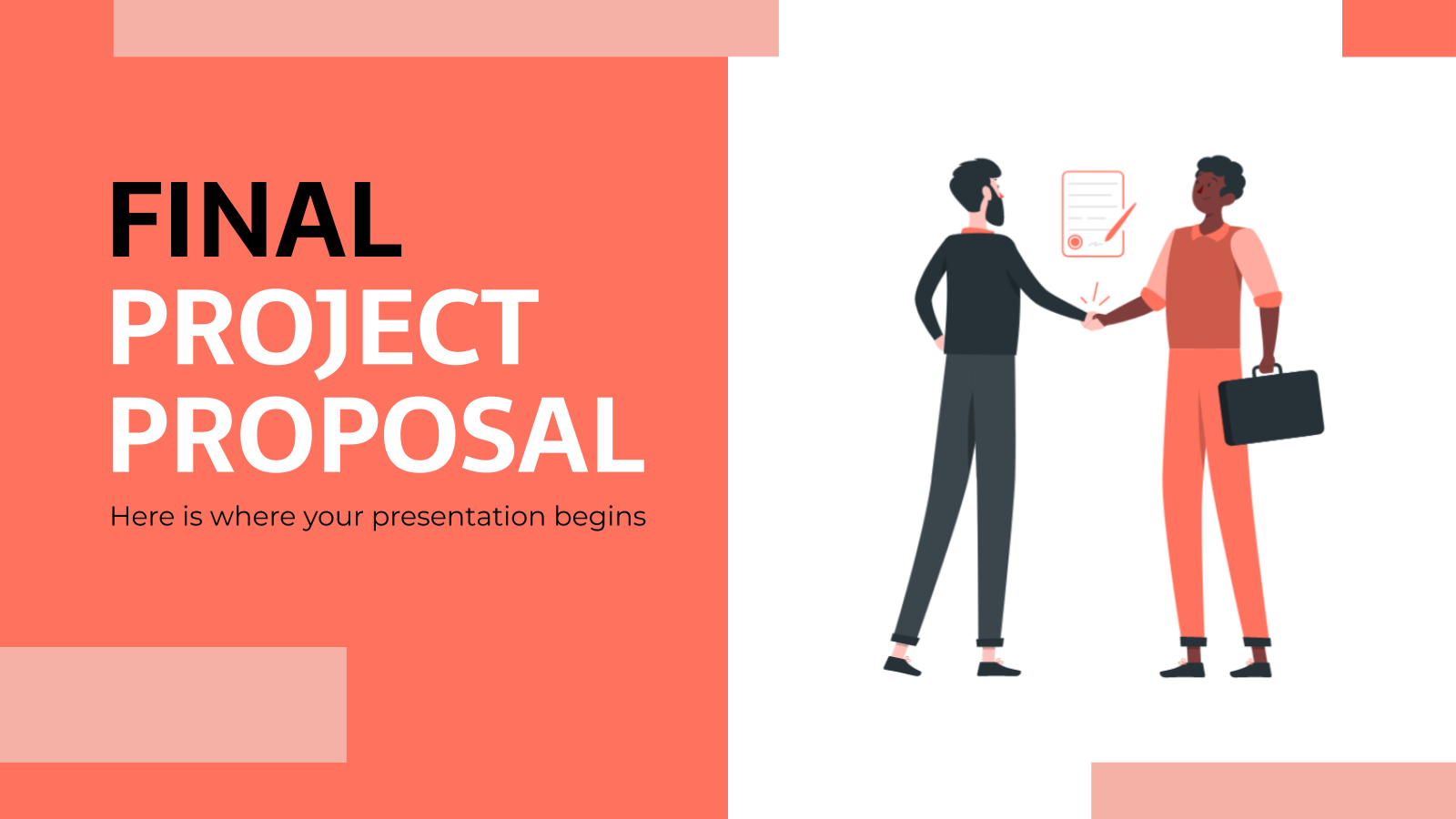 Final Project Proposal presentation template