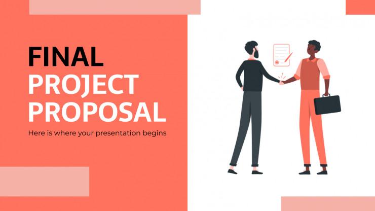 Proposition de projet finale : Modèles de présentation