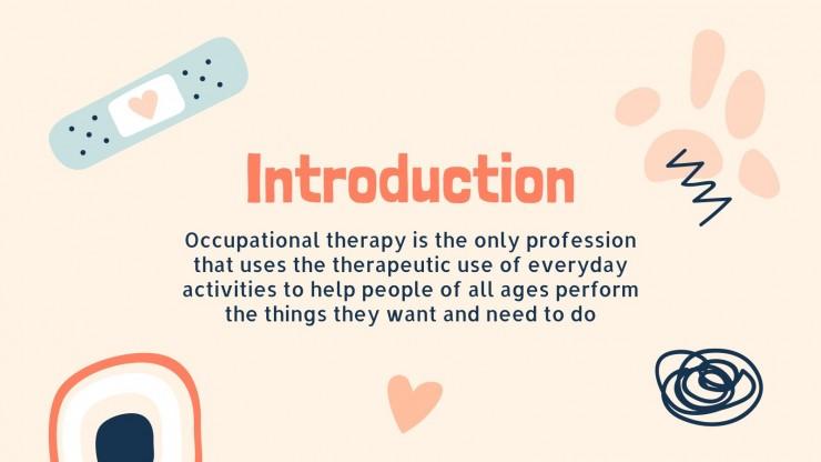 Welttag Ergotherapie Präsentationsvorlage