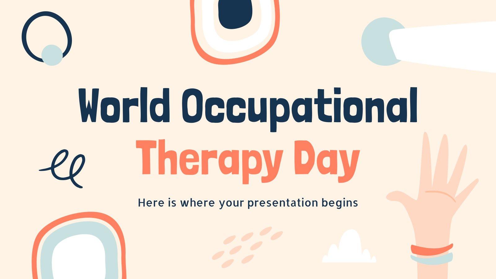 Plantilla de presentación Día de la terapia ocupacional