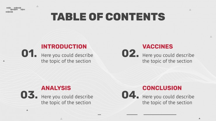 COVID-19 Vaccine Research presentation template