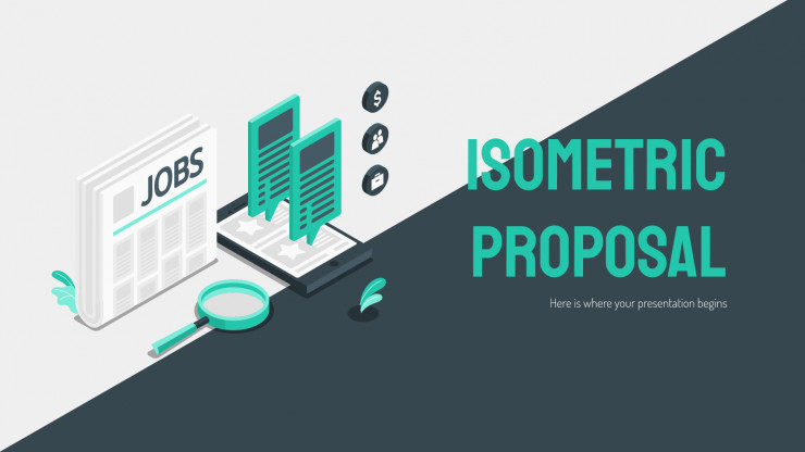 Modelo de apresentação Proposta isométrica