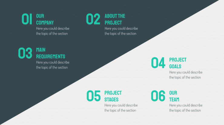 Isometric Proposal presentation template