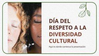 Tag des Respekts für kulturelle Vielfalt Präsentationsvorlage