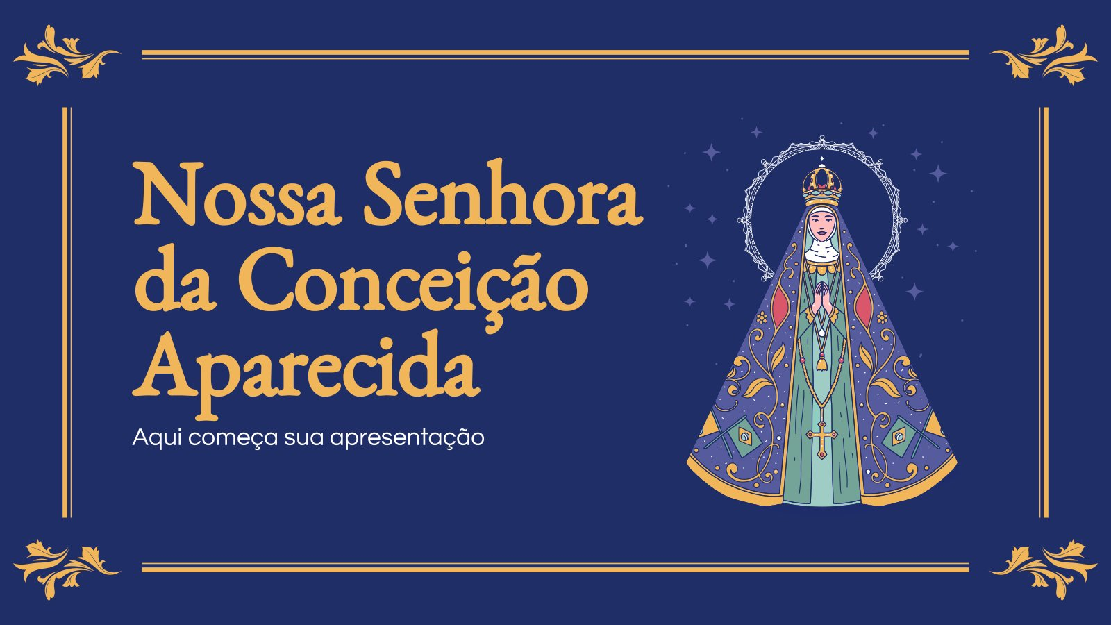 Notre-Dame d'Aparecida : Modèles de présentation