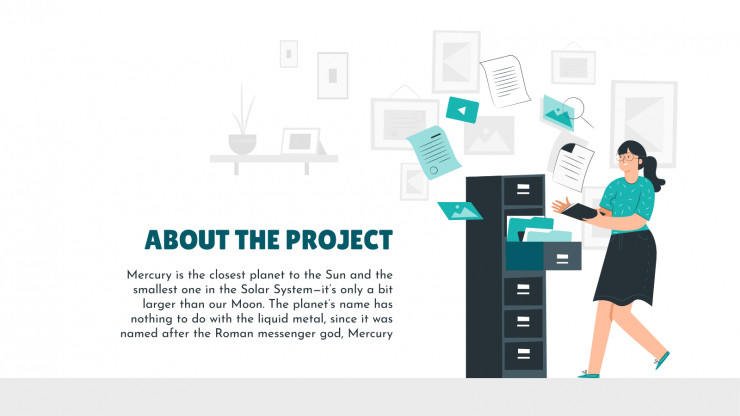 Research Project Proposal presentation template