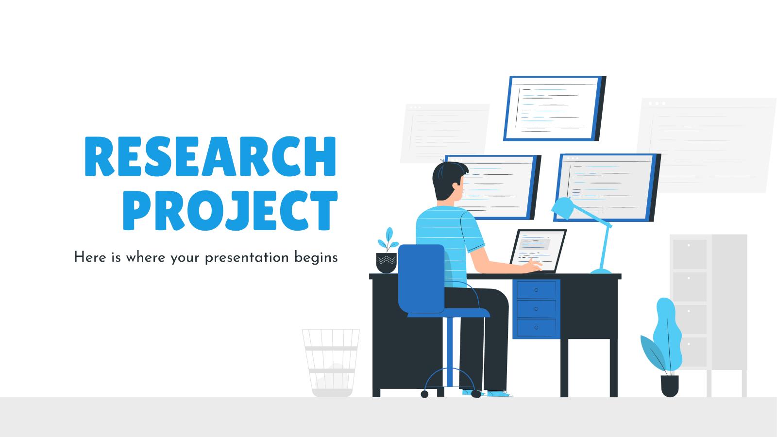 Proposition de projet de recherche : Modèles de présentation