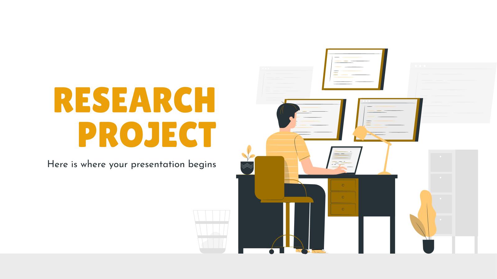 Modelo de apresentação Projeto de pesquisa