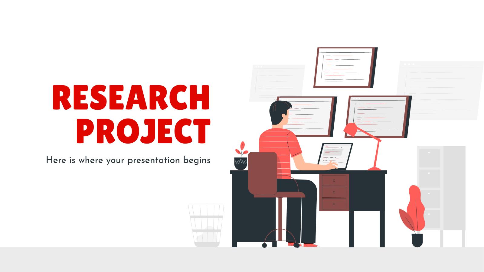 Modelo de apresentação Proposta de projeto de pesquisa