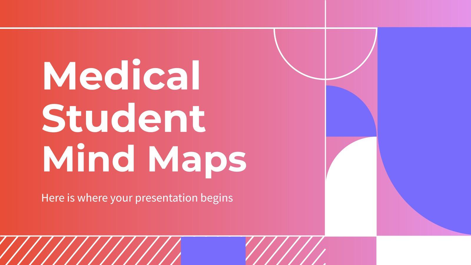 Cartes heuristiques pour les étudiants en médecine : Modèles de présentation